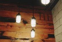 Lighting ideas / Light, lighting, lamps, residential, modern