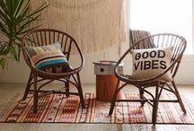 + Bohemian home / bohemian interior + boho decoration