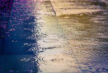 + Rainy days / rain + raindrops + rainy weather