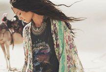 + Boho wardrobe / bohemian style + boho + inspiration