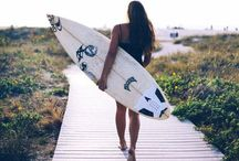 + Surf / surf + summer + waves + surfing + surfchicks