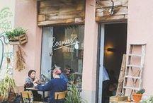 + Places / restaurants + bars + streets + cafés + markets