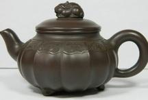 Clay tea pot / Chinese clay tea pot - Yixing tea pot mainly / by Curieuse Chine