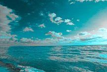 Aqua & turQuoise!  / by Diane Lawson
