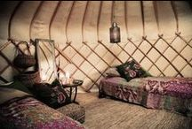 Yurts- Argentina. Glamping Pasion Verde. / Glamping holidays.