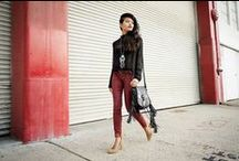 Petite Fashionista - Olivia Lopez  / Olivia Lopez, the  blogger behind Lust for Life began blogging in 2006. Standing at 5'1', the petite blogger  models for her vintage shop called The Caravan and also works as a stylist.