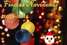 """Carteles """" I Concurso Navidad 2013-2014) / Los 14 carteles que han participado en el primer concurso de carteles navideños."""