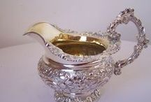 SILVER! (my weakness!) / I love love love silverware and cleaning it is therapeutic!