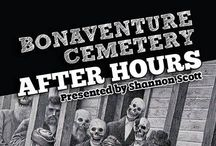 After Hours Tour at Bonaventure Cemetery. / Come see Bonaventure in the evening free of the noise and the many tourists. This exclusive tour gives you a different sense of Bonaventure. A true MUST see!