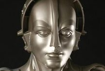 Robots in movies / Robotic moviestars from all eras.