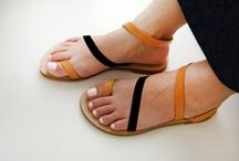 LEATHER SANDALS / leather sandals handmade for kids and adults
