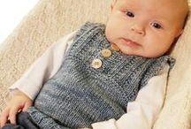 Knitting & crochet: Babies and Kids / Вязание крючком и спицами для детей: идеи, схемы, описания / by Renata Burikina