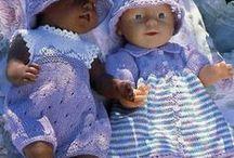 Baby Born clothes / Идеи, выкройки, схемы вязания