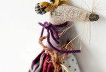 Textile toys / Текстильные игрушки. Идеи и выкройки