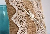 Pillows: Crochet & textile / Идеи, схемы, выкройки
