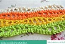 Crochet patterns and charts / Узоры для вязания крючком и схемы