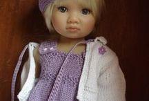 Doll's clothes / Идеи, выкройки, схемы вязания