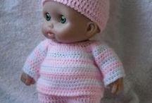 Berenguer /Small doll crochet / Одежда для berenguer dolls и небольших кукол. Идеи