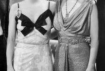Vestidos de película V / Vestidos de actrices clásicas dentro y fuera de la pantalla