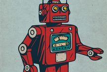 Robot posters / Various robot posters