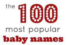 Top Baby Names By State / The top names in America in every state! / by Baby Name Wizard