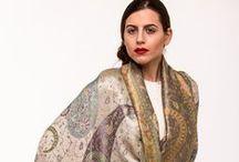 Silk pashminas shawls