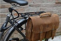 Leather Bicycle Bags / Gusti Leather has some great bicycle bags!