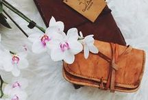 Leather Stationary and Books - Gusti Leder nature / We have some wonderful leather stationary and books