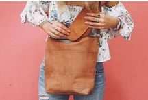 Leather handbags - Gusti Leder studio / Practical, functional and stylish leather handbag - perfect for your city lifestyle.