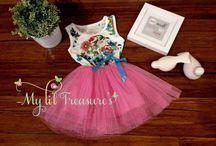 Li'l Dresses and Tutus / Li'l Girls dresses and tutus