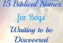 Biblical Baby Names for Boys / As one of the most enduring books of all time, the Bible has given us loads of classic names that have remained treasured throughout generations. It's also inspired trends, and now more than ever, today's parents are looking for the next hot biblical name. Here are a few baby boy names that haven't yet broken into the mainstream, but have lots of potential with a trend-worthy feel and an unshakeable biblical background.