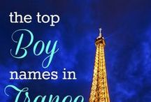 Top International Baby Names for Boys / We've collected the most popular baby names from around the world! Browse for a global take on name style. Including America, Canada, United Kingdom, France, Italy, Russia, Ireland, Mexico, Turkey, Germany, Denmark and many more.