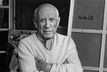 Pablo Picasso (1881-1973) / Plus de 1600 photos liées à la vie et à l'oeuvre de Pablo Picasso, que vous pouvez copier ou entrer avec le système Pinterest.. Vous trouverez aussi dans mes tableaux pinterest : fleurs, miniatures médiévales, peintres confirmés  (Dali, Toulouse-Lautrec, Chagall, etc) ou en émergence, photos de Santorini,(ancienne et actuelle), couchers de soleil.. Pinterest Pierre Tap