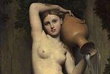 Jean-Auguste Ingres (Jean Auguste Dominique) (1780-1867) / à suivre