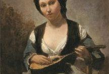 Camille Corot (Jean-Baptiste Camille)(1796-1875) / à suivre