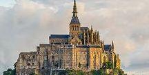 Mont Saint Michel  France Normandie / à suivre