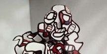 Jean Dubuffet (1901-1985) / à suivre.. l'art brut