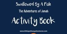 Bible Story Activity Books