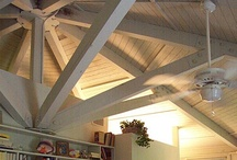 Post & Beam Timber Frame Interior  / Topsider's Post & Beam timber frame building system utilizes no interior or exterior load-bearing walls, resulting in flexibility of design and uniquely stylish architecture that doesn't sacrifice structural integrity.
