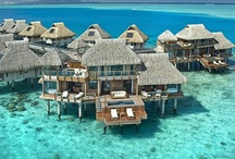 Exotic Resorts / From Hawaii to the Caribbean there are a plethora of exotic resorts and hotels that give way to the best in luxury accommodations while on vacation.  These pins will inspire you to pack your bags for your next 'exotic' destination.