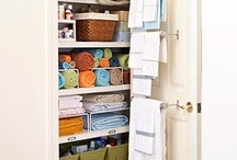Organization & Cleaning Tips & Ideas / by Christina K.