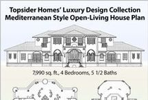 Premiere Collection House Plans / Topsider's Premiere Collection home designs are floor plans ranging in size from 3,000 sq. ft. to 9,000. These designs feature spacious interiors and are custom designed to work with your building site's surrounding landscape.