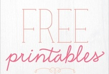 Free Printables and Fonts! / by Christina K.