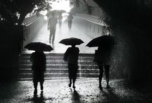 Sometimes I like the rain..... / because it is necessary for the rebirth of life