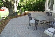 Paver Patio Start to Finish / Irrigation, landscape, and patio installation in Edina done by Barrett Lawn Care.
