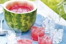 Belly up to the bar / These creative boozy concoctions are sure to make your bash a hit!