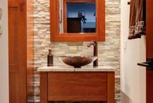 Portfolio: Powder Room Designs / Small Powder Rooms Projects from 2013.