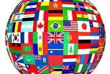 Flags Around The World / by ☀️Maria João Alte