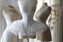 Lingerie  -Fashion and elegance through the ages-Before XX Century / (lingerie  from the past )