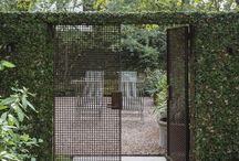 garden sanctuaries, courtyards